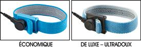 Bracelets de mise à la terre