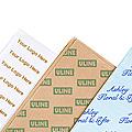 Papier de soie à impression personnalisée