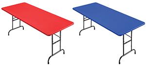 Table pliante de luxe
