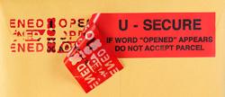 Uline – Rubans adhésifs et bandes de sûreté