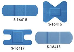 Pansements détectables par détecteur de métaux