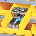 Supports de rangement pour bacs à étagères