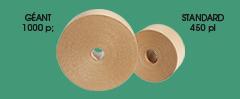 Rouleaux standards et format géant de ruban adhésif en kraft pour scellement