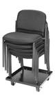 Socle roulant pour chaises empilables
